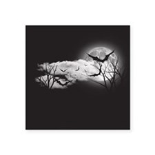 Bats in the Moonlight Sticker