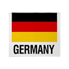 Cute German flag Throw Blanket