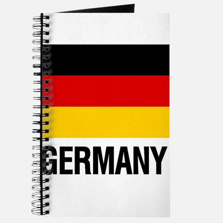 Cute Germany flag Journal