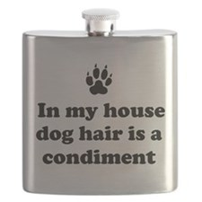 In my house dog is a condiment Flask