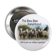 2 1/4 inch Baa Baa Button Set of 10