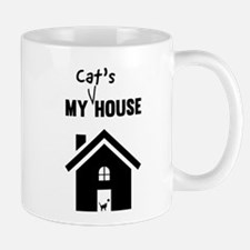 My cats house Mugs