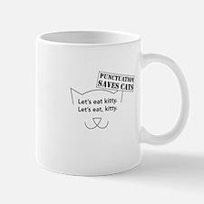 Let's eat kitty. Mugs