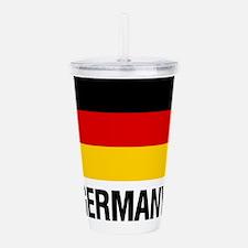 Cute Germany Acrylic Double-wall Tumbler