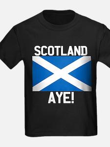 Scotland Aye Dark FB T-Shirt