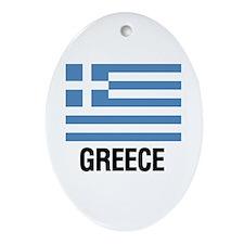 Cute Greek Ornament (Oval)
