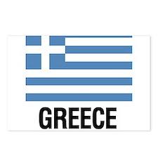 Cute Greek Postcards (Package of 8)