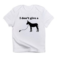 I don't give a rats ass Infant T-Shirt
