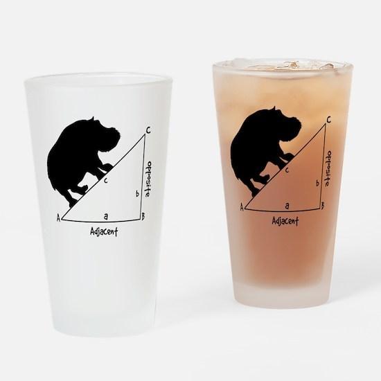 Hippotenuse Drinking Glass
