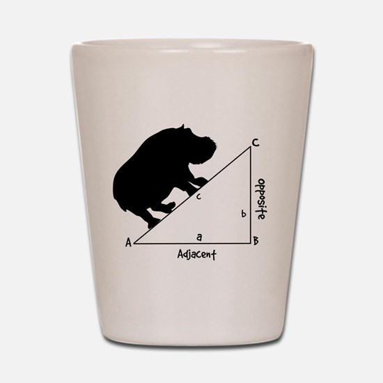 Hippotenuse Shot Glass