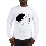 Animals Long Sleeve White T-Shirts