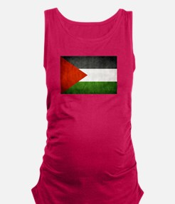 Funny Palestine Maternity Tank Top