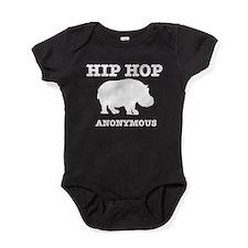 Hip hop anonymous Baby Bodysuit