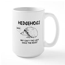 Hedgehogs hedge no Mugs