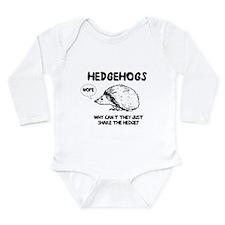 Hedgehogs hedge no Body Suit