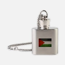 Cute Free palestine Flask Necklace
