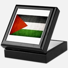 Funny Free palestine Keepsake Box