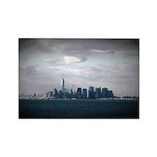 NYC Skyline Rectangle Magnet