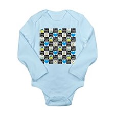 BRIDESMAID LUV Long Sleeve Infant Bodysuit