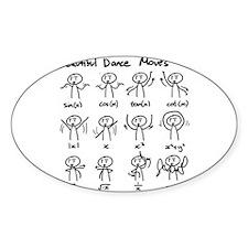 Beautiful (math) dance move Decal
