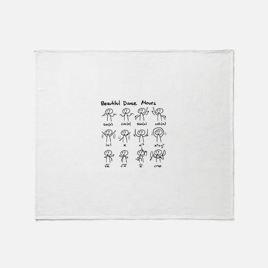 Funny Math funny Throw Blanket