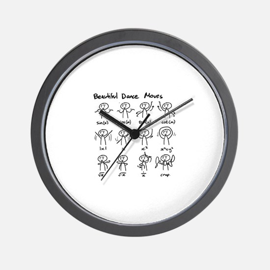Cute Cylinder Wall Clock
