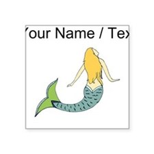 Custom Blond Mermaid Sticker