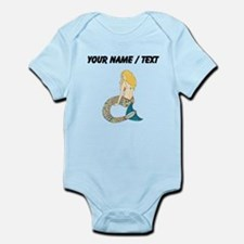 Custom Blond Mermaid Body Suit