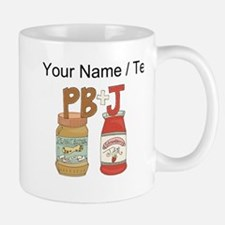 Custom Peanut Butter And Jam Mugs