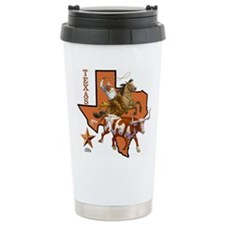 Cute Horses Stainless Steel Travel Mug