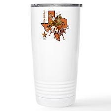 Cute Texas longhorn Travel Mug