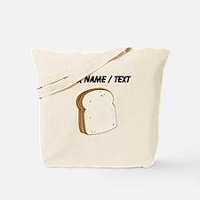 Custom Peanut Butter Sandwich Tote Bag