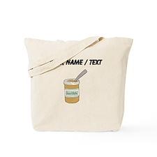 Custom Peanut Butter Jar Tote Bag