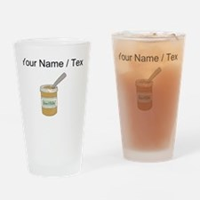 Custom Peanut Butter Jar Drinking Glass