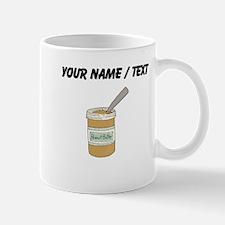 Custom Peanut Butter Jar Mugs