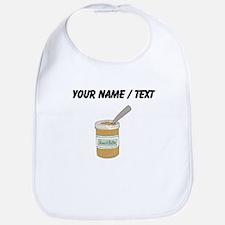 Custom Peanut Butter Jar Bib