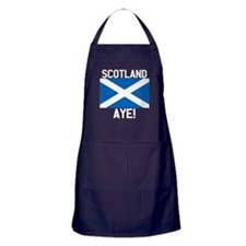 Scotland Aye Dark Apron (dark)