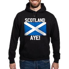 Scotland Aye Dark Hoodie