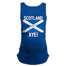 Scotland Aye Dark Maternity Tank Top