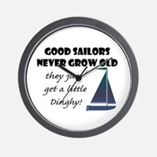 Good Sailors Never Grow Old, They Just Wall Clock