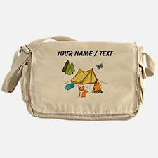 Custom Campsite Messenger Bag