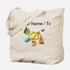 Custom Campsite Tote Bag