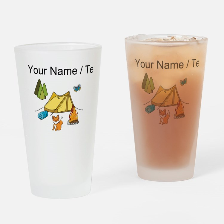 Custom Campsite Drinking Glass