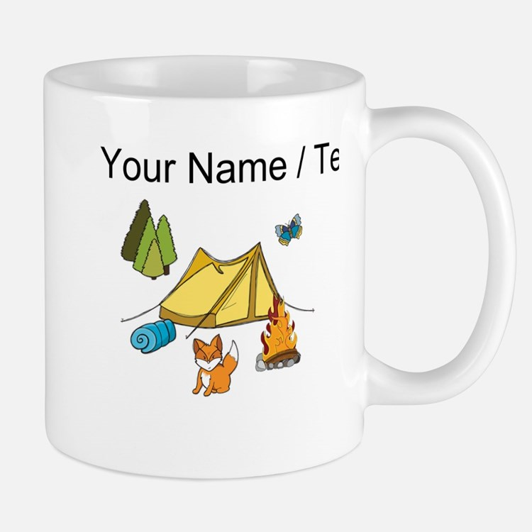 Custom Campsite Mugs