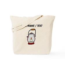 Custom Camping Lantern Tote Bag