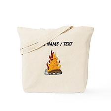Custom Camp Fire Tote Bag