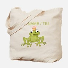 Custom Frog Prince Tote Bag