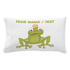 Custom Frog Prince Pillow Case