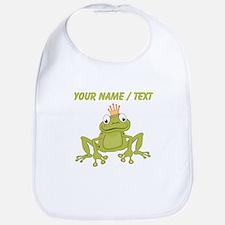 Custom Frog Prince Bib