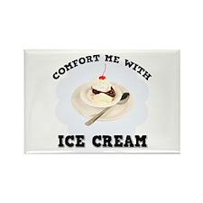 Comfort Ice Cream Rectangle Magnet